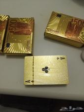 ورق بلوت مطلي بالذهب