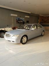 مرسيدس VIP  S600  2001 مخزن