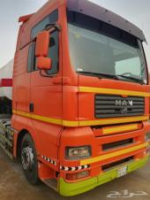 شاحنة مان 2006 مع صهريج وقود ب50