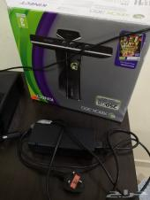 Xbox 360 نظيف جداا  250جيجا (8اشرطه و.