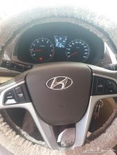 سيارة هونداي اكسنت نظيفة جدا موديل 2014