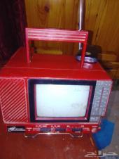 راديو وتلفزيون قديم اثري وشغال