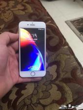 للبيع ايفون 8 عادي 256G لون ذهبي جديد