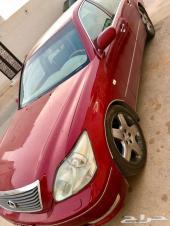 Lexus LS430 2005 RED