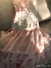 فستان شبكة فخم وع الموضة ينفع لزواج قريب لك