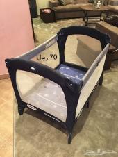 محبس سرير اطفال مواليد 70ريال من graco