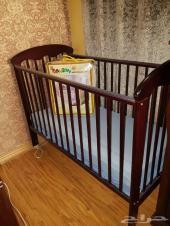 كفر سرير بناتي سرير خشب