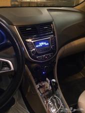 سيارة هونداي اكسنت موديل 2017 الون ابيض