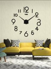 ساعة حائط حجم كبير 80 ريال فقط