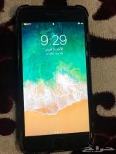 iPhone 7plus 128g اسود مطفي