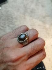 خاتم فضه عقيق