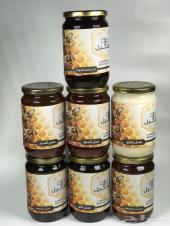 عسل سدر عسل مجرى غذاء الملكات الخام