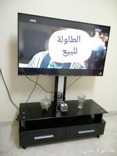 طاولة تلفزيون لبيع