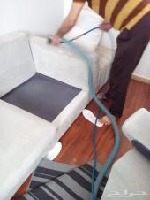 تنظيف كنب مجالس شقق بالبخار