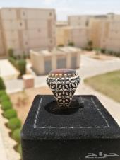 مزاد على خاتم عقيق يمني