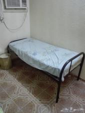 سرير مع المرتبة فقط 100 ريال