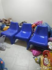 عدد 3 كرسي استرخاء من اكيا  100 ريال