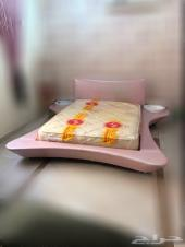 غرفه نوم مودرن ورديه من ميداس نفر ونص
