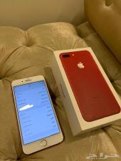 ايفون 7 بلس احمر 128 GB