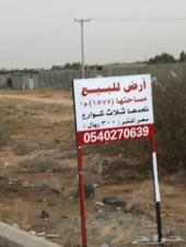 أرض لبيع في قرية الجرادية على الحزام شمال غرب