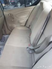 سيارة نيسان صني للبيع موديل 2012  العداد ماشي