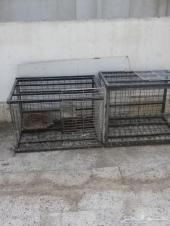 اقفاص حديد حمام أرنب دجاج للبيع