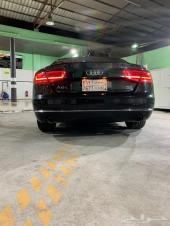 سيارة أودي A8 موديل 2012 أسود
