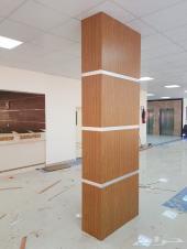 أعمال ديكورات خشبية داخلية ( مساجد - مسارح )