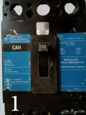 قواطع كهربائية 30-60-200-300-400 امبير