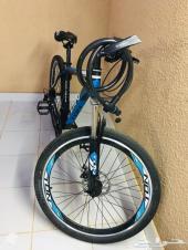 دراجة جبلية (سيكل) مقاس 26 شبه جديد