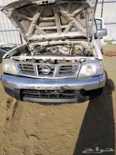 داتسون 2013 مصدوم للبيع قطع غيار فقط