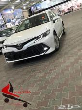 تويوتا كامري 2019 GLE سعودي ابيض