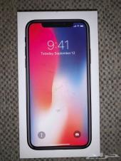 ايفون اكس iphone x 64 ابيض نظيف جدا
