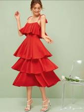 فستان طبقااات استخدام مره واحده ل اربع ساعات