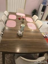 طاولة طعام تركية من مفروشات المطلق