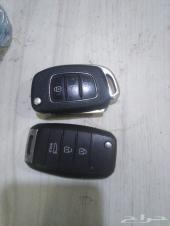 عدد 2 ريموت سيارة هونداي سانتافي وريموت كياء