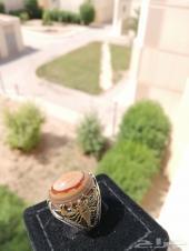 مزاد على خاتم عقيق يمني سليماني مميز