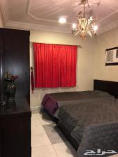 شقةمؤثثة2غرفة1500شهرياجدةحراءتقاطع الملك فهد