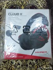 سماعة Hyperx Cloud II هايبر اكس كلاود2 جديدة