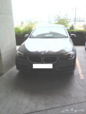 BMW 520 موديل 2014 ماشي 4800كم