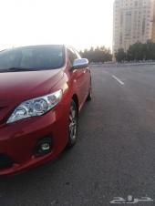 سيارة كورولا 2013 نصف فل