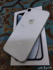 أيفون XR أبيض ثلجي