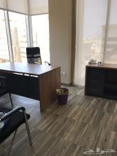 مكتب مؤثث في شارع الامير سلطان