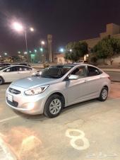 اكسنت 2017 نظيفه جدا (( الرياض ))