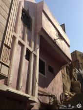 عمارة للإيجار دورين شقتين - مكة شارع الحج