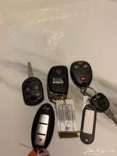 مفاتيح سيارات جديده لم تستخدم ( وكالة )