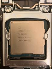معالج i5-9600k ومذربورد ورامات