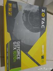 كرت شاشة Zotac Geforce GTX 1070 TI