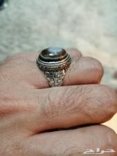 خاتم عقيق يمني طبيعي