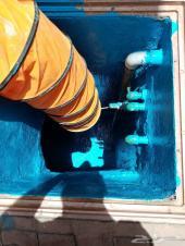 عزل خزانات المياه بأفضل انواع العوازل